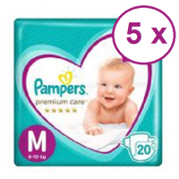 Pampers Premium Care talla M 100 pañales