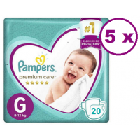 Pampers Premium Care talla G 100 pañales