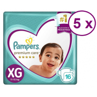 Pampers Premium Care talla XG 80 pañales