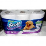 Papel Higiénico Scott 6 Rollos